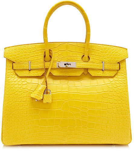 Heritage Auctions Special Collections 35Cm Matte Mimosa Alligator Birkin