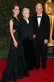 Angelina Jolie posed with fellow recipients Angela Lansbury and Steve Martin.