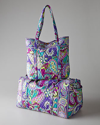 Vera Bradley Heather Get Carried Away Tote