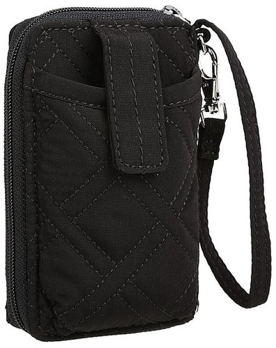 Vera Bradley - Carry It All Wristlet (Black) - Bags and Luggage