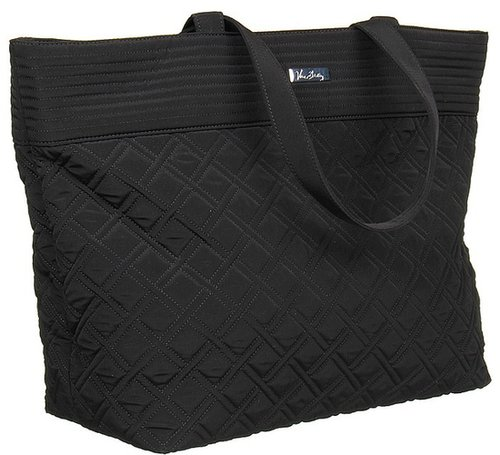 Vera Bradley - Grand Tote (Black) - Bags and Luggage