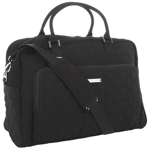 Vera Bradley Luggage - Weekender (Black) - Bags and Luggage