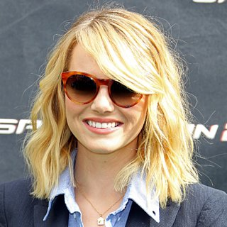 Emma Stone Hair | The Amazing Spider-Man 2 Fan Event