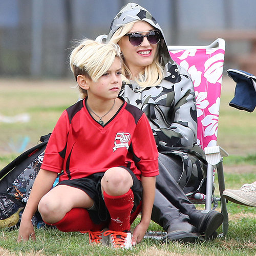 Gwen Stefani at Kingston's Soccer Game in LA | Pictures