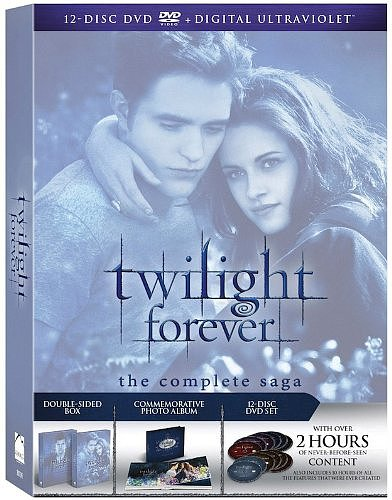 Twilight Forever: The Complete Saga Box Set ($30, originally $65)