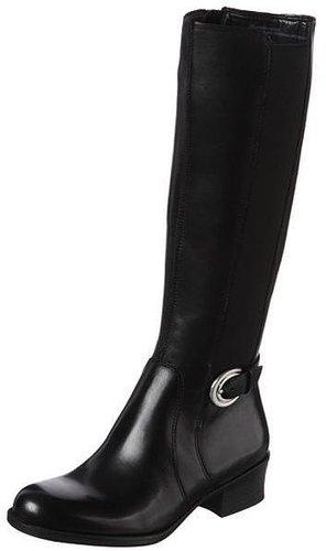 Overstock Naturalizer Women's 'Arness' Black Wide Calf Boots