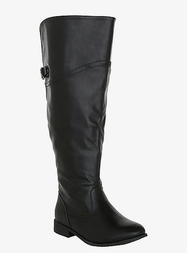 Torrid Faux Leather Over-The-Knee Boots (Wide Width)