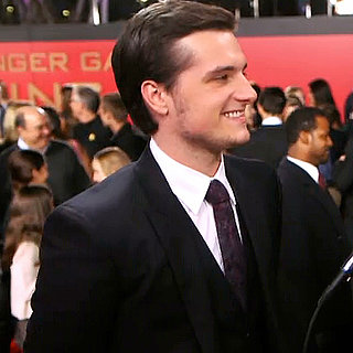 Josh Hutcherson Interview at Catching Fire Premiere | Video