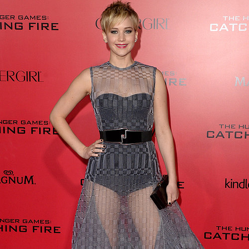 Jennifer Lawrence at the Catching Fire LA Premiere