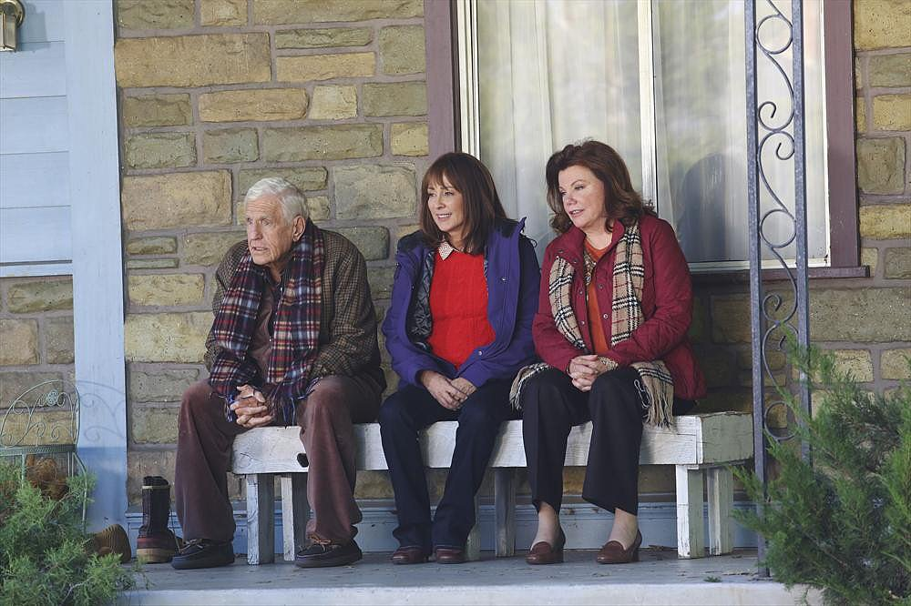 The Middle Jerry Van Dyke, Patricia Heaton, and Marsha Mason on The Middle.