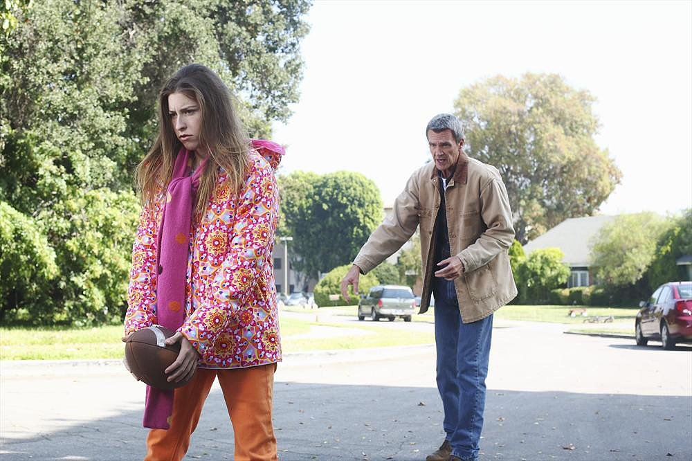 "The Middle Eden Sher and Neil Flynn on The Middle's Thanksgiving episode, ""Thanksgiving V,"" airing Nov. 20 on ABC."