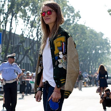 Cute Ways to Wear a Bomber Jacket