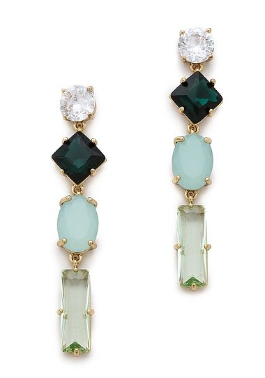 A pair of statement earrings, like these Juicy Couture rhinestone linear earrings ($58) or a jeweled necklace can amp up anything in your suitcase. Save yourself from bringing multiple tops for every occasion; instead rely on your jewels to do the dressing up.