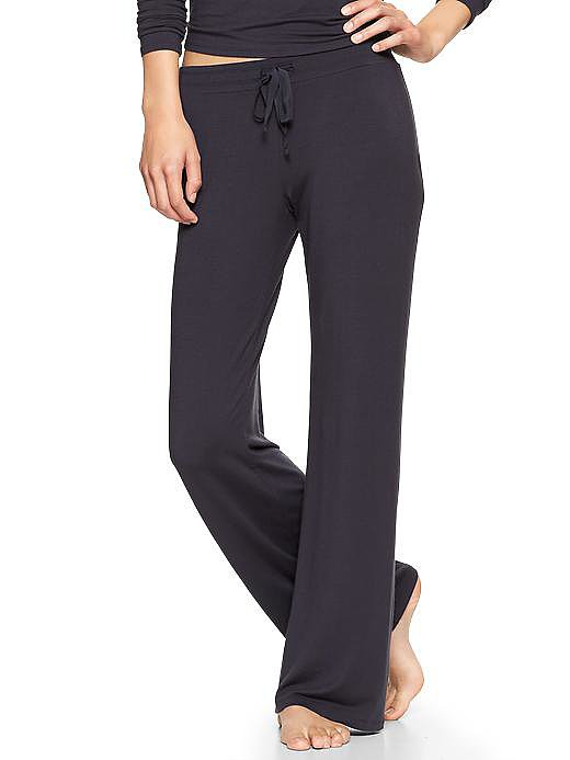 If your Thanksgiving plans involve meeting the parents — and even if you've known your significant other's mom and dad for a while — leave the lingerie at home and pack a pair of sweats like these Gap drawstring modal pants ($40) that you won't be embarrassed to come to the breakfast table in.