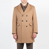 Every man needs a perfectly tailored camel overcoat ($1,095) in his closet. Leave it to Billy Reid to get the job done.