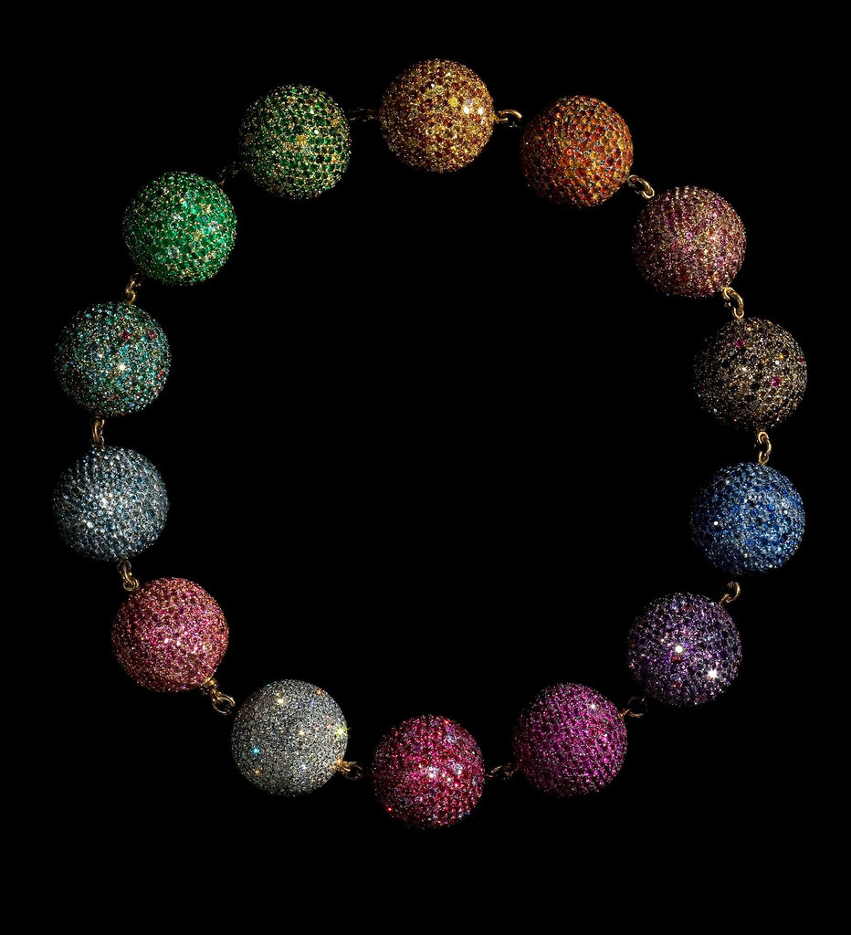 JAR Colored Balls Necklace, 1999