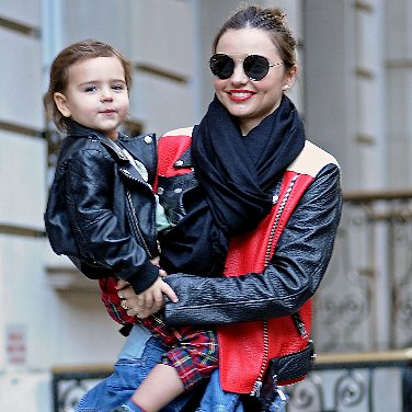 Miranda Kerr Doesn't Wear Any Old Leather Jacket