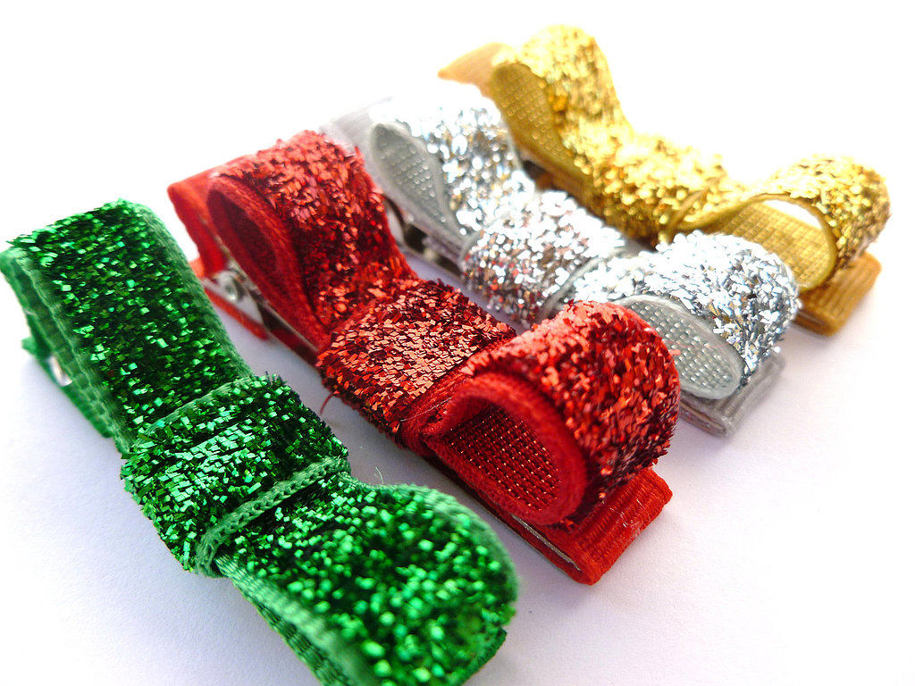 With so many colors of these glitter hair bows ($8), you and your friends can mix and match!