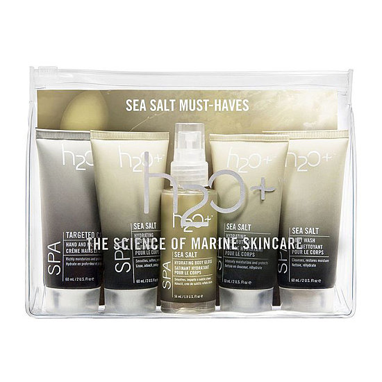 You don't have to spend much to give her the gift of spa. The H2O Plus Sea Salt Must-Haves Set ($25) comes with body wash, body butter, body spray, lotion, and hand cream, so she can pamper and stay hydrated all Winter long.