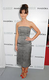 At the Glamour Women of the Year Awards in June 2013, Jenna kept things sleek and simple in a strapless midi dress with red ankle-strap heels.