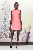 Alek Wek at the opening of the Madison Avenue J. Mendel boutique.