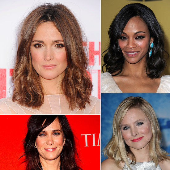 The Clavicut — 45 Celebrity Midlength Hairstyles