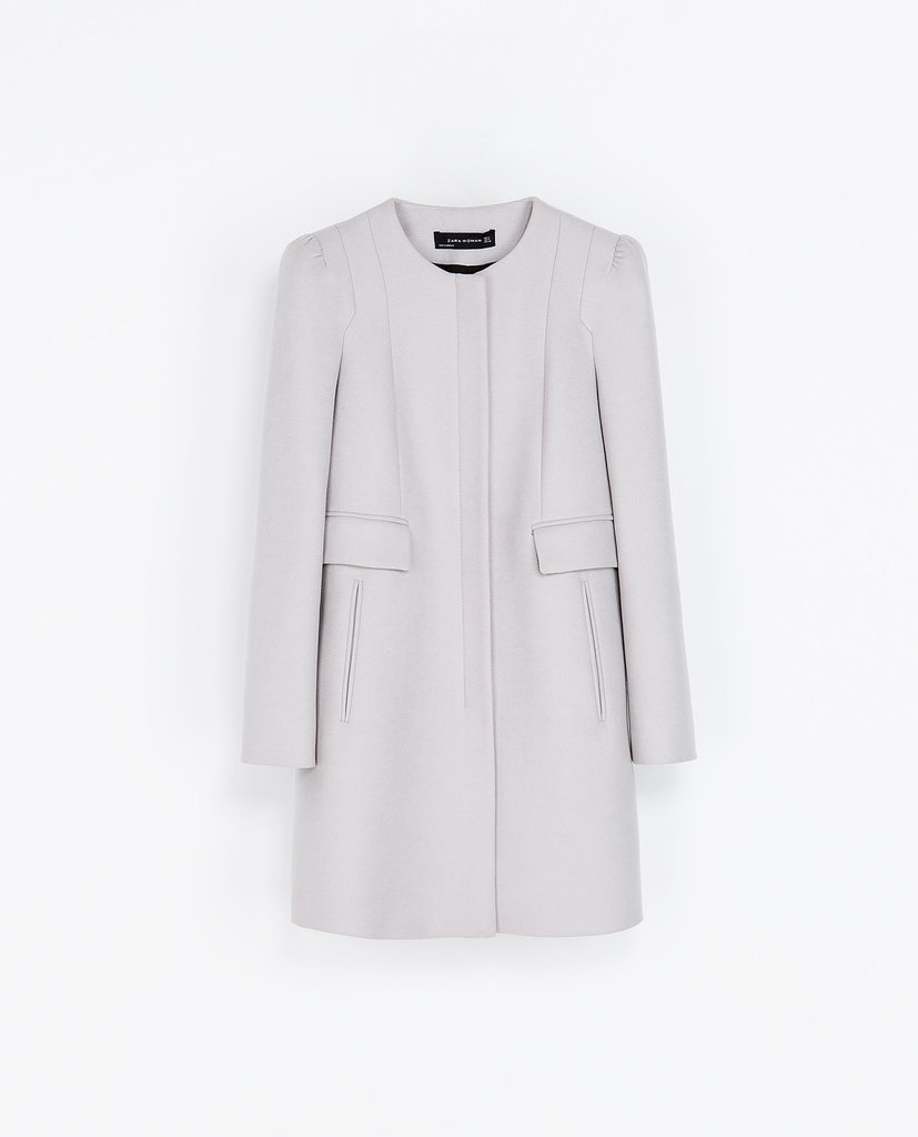 Your mom could wear this chic Zara Coat With Gathering on the Shoulder ($189) for seasons — and think of you every time she does.