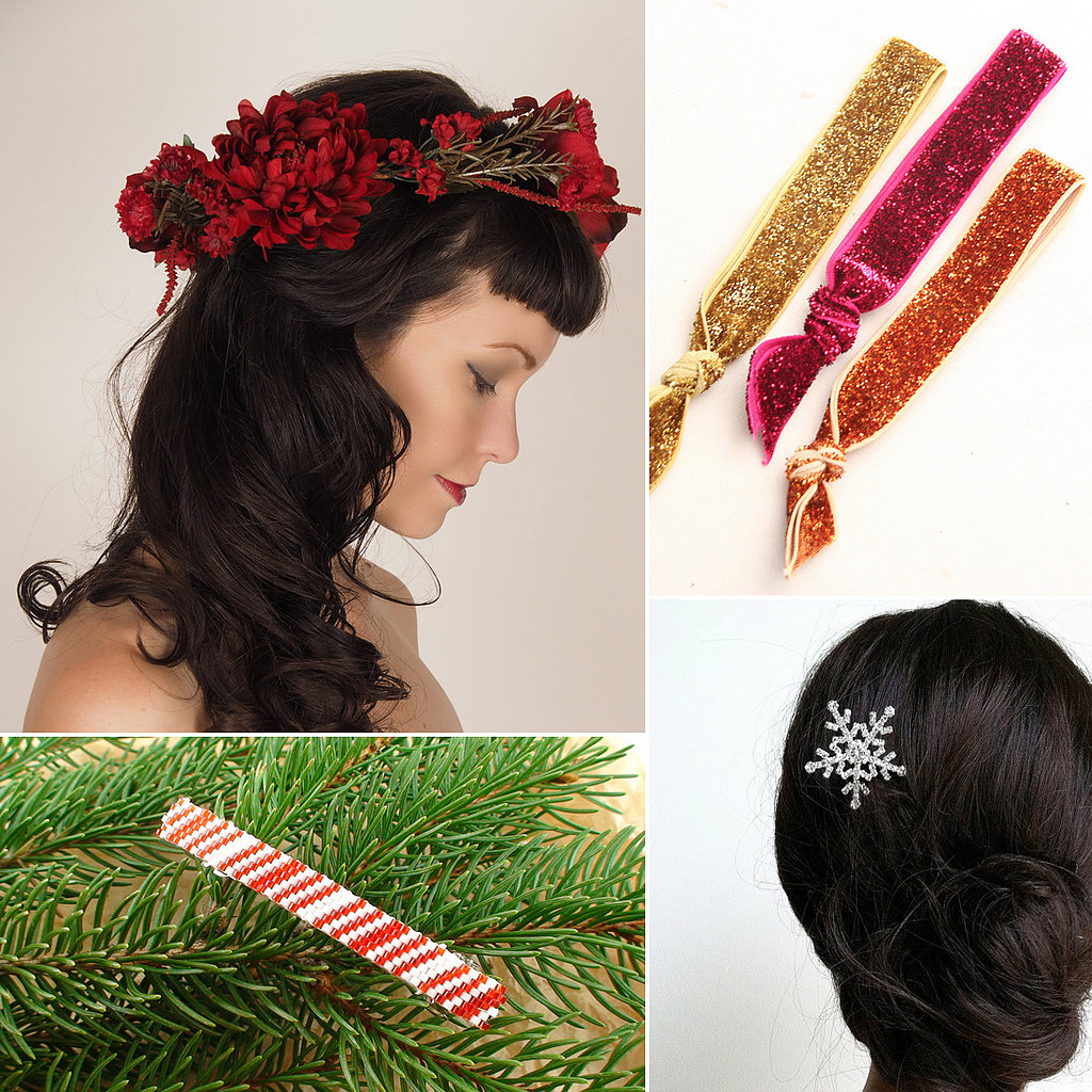 Deck the Halls With These Holiday Hair Accessories
