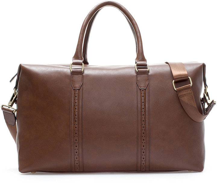 I love ski weekends in the Winter, but I'm missing the right bag for a short trip. Zara Weekender Bag With Strap ($90) would solve that problem with style.  — Annie Gabillet, news editor
