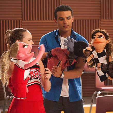 Glee Muppet Pictures