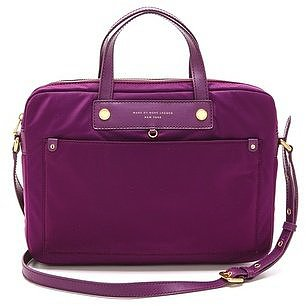 The Marc by Marc Jacobs commuter computer bag ($99, originally $148) blends fashion with practicality. The nylon adds durability and the pop of color makes it a stylish accessory, too!  — Annie Gabillet, news editor