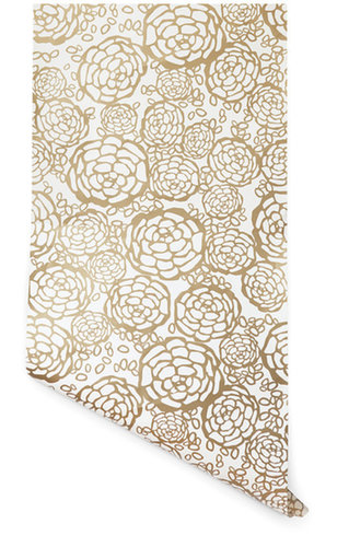 In my effort to redecorate, I've become smitten with Joy Cho's Petal Pusher wallpaper ($125) for Hygge and West. The florals are feminine without being too sweet, and the metallic gold makes a serious (yet subtle) statement. — Britt Stephens, assistant entertainment editor