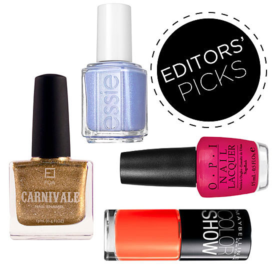 Editors' Picks: Summer Nail Polish Colours