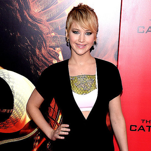 Jennifer Lawrence's Catching Fire Promo Looks