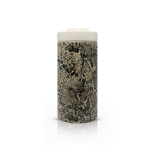 Doggie treats somehow taste better when they come out of this Nicole Miller python ceramic treat jar ($17).