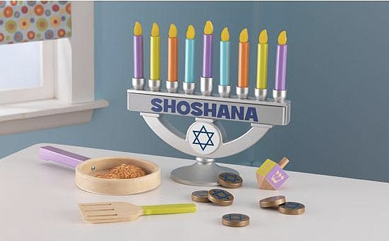 KidKraft Personalized Play Menorah
