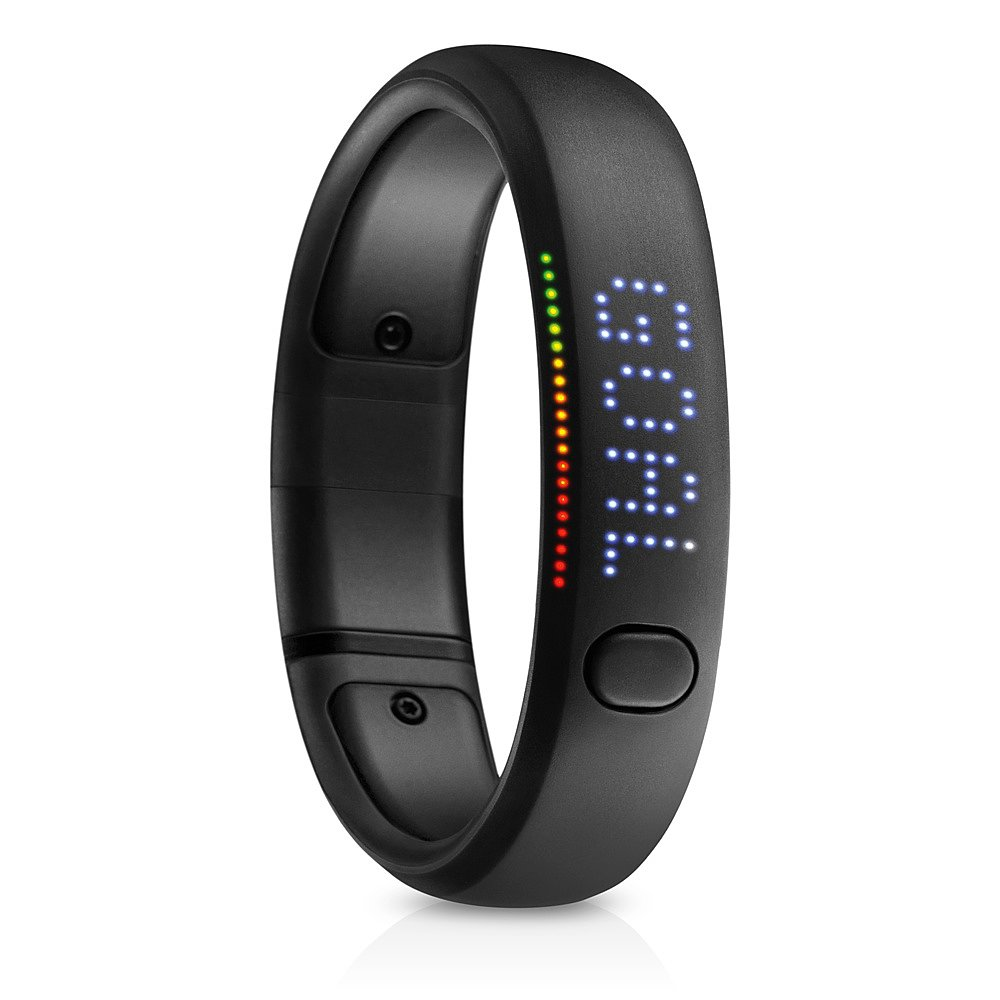 Several of my friends are already on the Nike+ FuelBand ($150) train, so I'm convinced that it's a fitness must have. Just in time for a healthy New Year's resolution, the band lets you track all kinds of activities, plus you can challenge your friends with workouts through Nike+ Groups.  — Laura Marie Meyers, assistant news editor