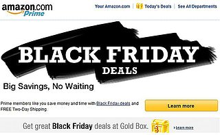 Best Amazon Black Friday Deals 2013