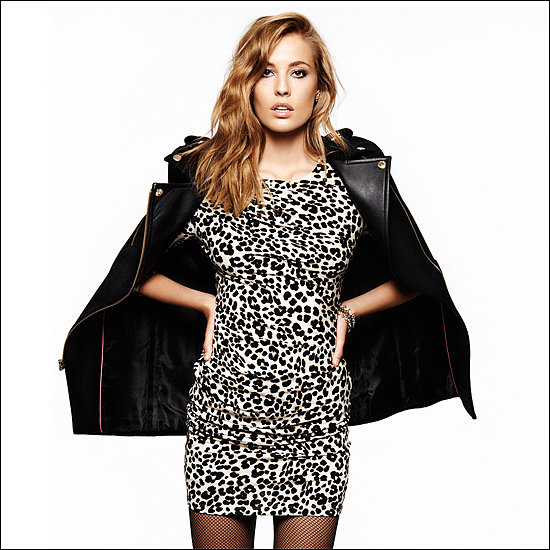 Jersey Cheetah-Print Dress