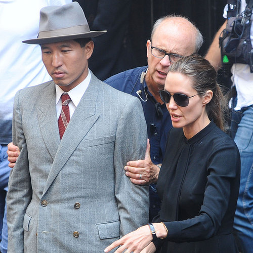 Angelina Jolie on the Set of Unbroken in Australia