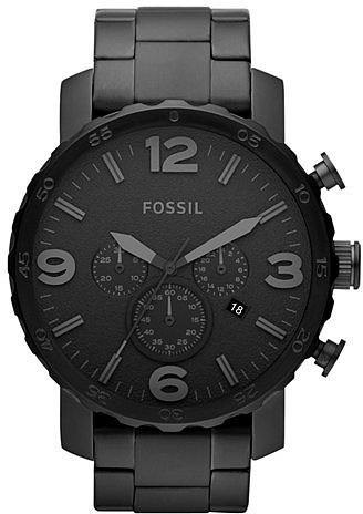 When you're picking a timepiece for your wardrobe, you're going to want a watch that's sleek, stylish, and timeless. This chronograph bracelet watch ($145) is stainless steel, and the all-black color scheme makes an incredible fashion statement. — Ryan Roschke, editorial assistant
