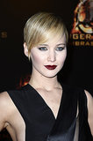 With The Hunger Games: Catching Fire being released this week, Jennifer Lawrence was parading her pixie all over the place. Our recap of all her promo tour looks was a hit on Pinterest.