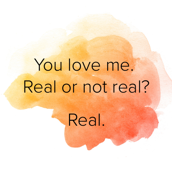 how to know if your love is real