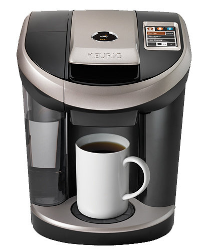 I've gotten addicted to single-serve coffee machines since using them at the office, and now I want my own. They also make great gifts for people who love coffee, tea, and other hot drinks, and Keurig's Vue brewing system ($150) is a simple but sophisticated model with its touch screen. — Shannon Vestal, TV and movies editor
