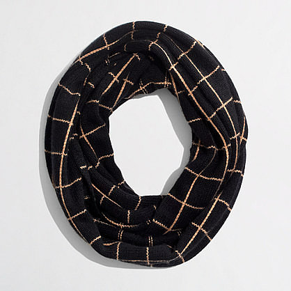 Factory printed infinity scarf