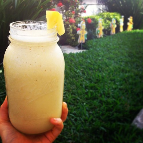 (Vegan) Piña Colada Smoothie