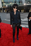 Joan Jett popped up on the carpet.