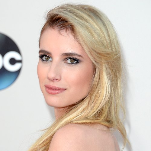 Emma Roberts Hair and Makeup at American Music Awards 2013