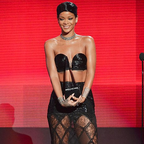 Rihanna Dress at American Music Awards 2013