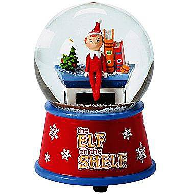 Elf in the Snow Globe